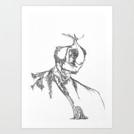 Man and his Selves Art Print
