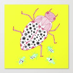 yellow roach Canvas Print
