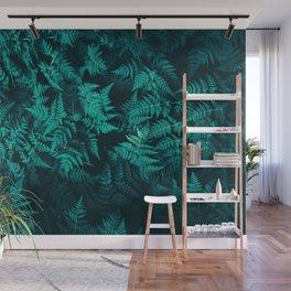 Elegant Fig Leaves Wall Mural