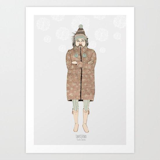 """INVIERNO_""""las tendencias de Ufri"""" Art Print"""