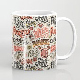 Naughty Words Coffee Mug