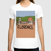 florence T-shirts featuring Florence by Logan_J