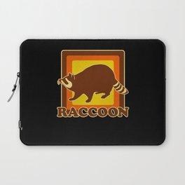 Retro Raccoon Laptop Sleeve