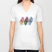 fig V-neck T-shirts featuring Fig. 034 by Maps of Imaginary Places