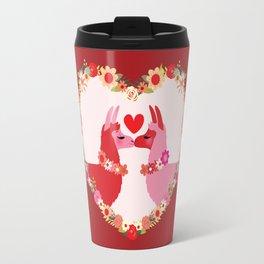 Llama lovin Travel Mug