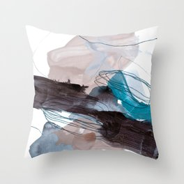 abstract painting VIII Throw Pillow