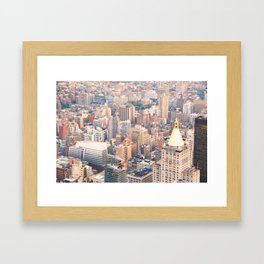 288. High View, New York Framed Art Print