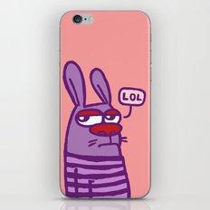 LOL #2 iPhone & iPod Skin