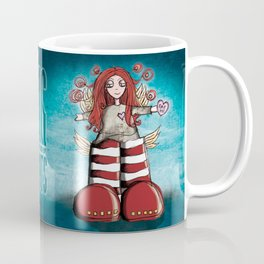 Girl Quirky: Big for my Boots Coffee Mug