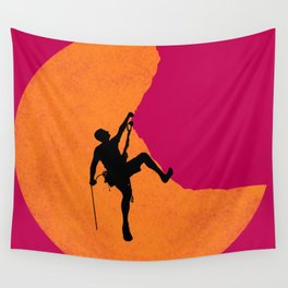 Climbing Wall Tapestry