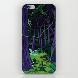 La Foresta Tropicale (Tropical Forest) iPhone Skin