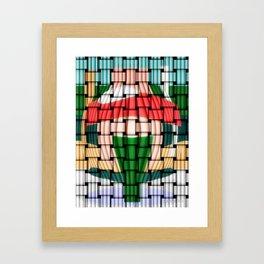 Pablo's Jar 2 Weave Framed Art Print