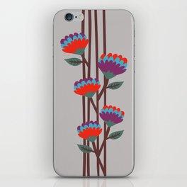 Émile Flowers iPhone Skin