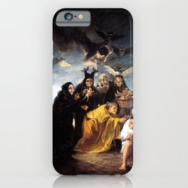The Witches Spell- Francisco Goya iPhone Case