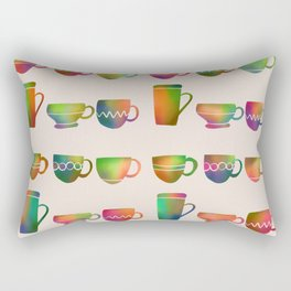 Happy Cups Rectangular Pillow
