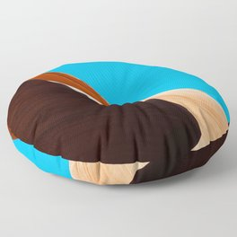Curves of the Valley Floor Pillow