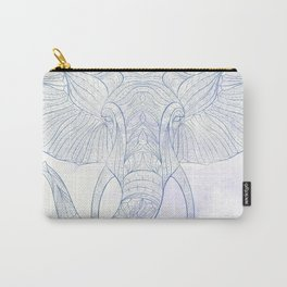 Ethnic Elephant Carry-All Pouch