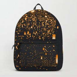 Golden Lights (Color) Backpack