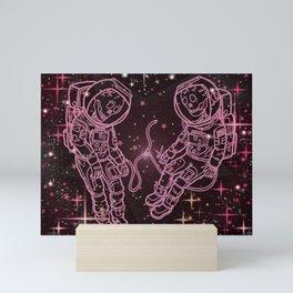Astronauts Mini Art Print