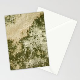 Natural Mossy Urban Wall Stationery Cards