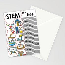 STEM the tide Stationery Cards