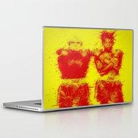 basquiat Laptop & iPad Skins featuring Warhol/Basquiat by Trey Visions