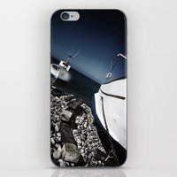 boats iPhone & iPod Skins featuring boats by zantelier