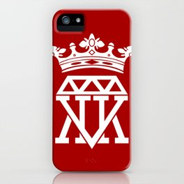 King Crown (BLUE) iPhone Case