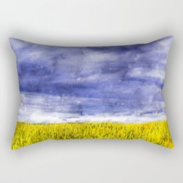 Storm Clouds Rectangular Pillow