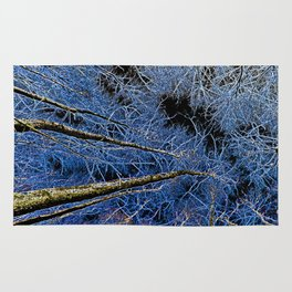 English forest tree Art Rug