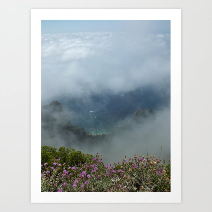The View from Heaven Art Print