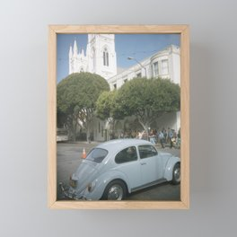 San Francisco Framed Mini Art Print