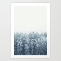 Frosty feelings Art Print