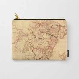 Map Of New South Wales 1833 Carry-All Pouch