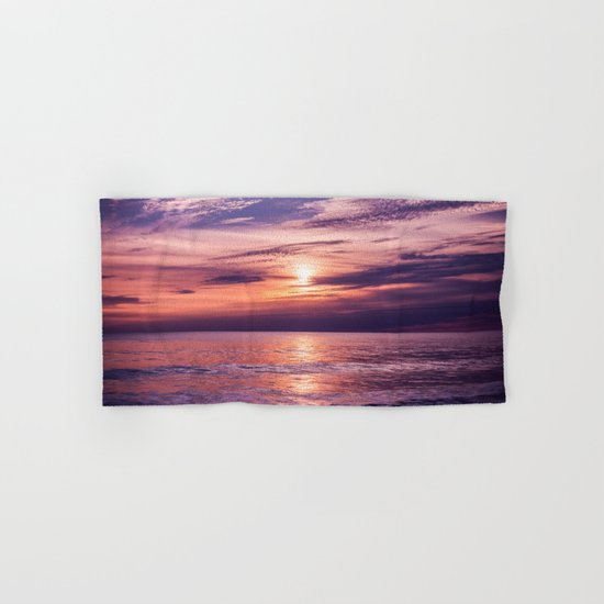 A Moving Sea Between The Shores Hand & Bath Towel