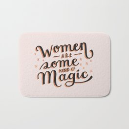 Women are Some Kind of Magic - The Princess Saves Herself in This One Bath Mat