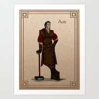 valar morghulis Art Prints featuring Aule by wolfanita