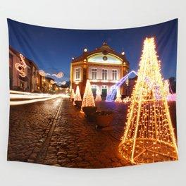 Christmas in Ribeira Grande Wall Tapestry