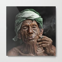 Old man 17 Metal Print