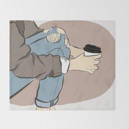 Fashion Latte To Go Throw Blanket