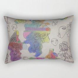 it's an art world Rectangular Pillow
