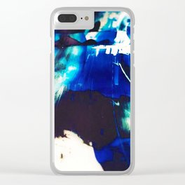 Printmaking Ink Clear iPhone Case