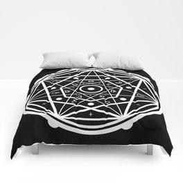 Good Vibes Alchemy Sigil Comforters