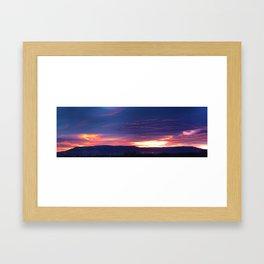 Grand Junction Sunrise Framed Art Print