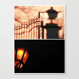 Giochi di luce Canvas Print