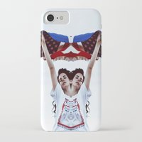 american iPhone & iPod Cases featuring AMERICAN by Paparrazzi666