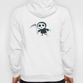 Better Late Than Never - Grim Reaper only Hoody