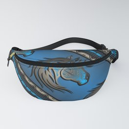 Horse Nation (Blue) Fanny Pack