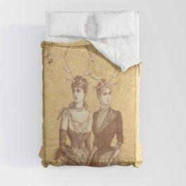 Sisters Emmaline And Cornelia Always Wore The Biggest Hats Comforters