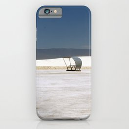 Picknick At White Sands iPhone Case